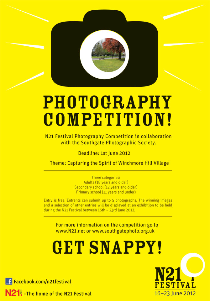 Photography competition for N21 Festival - Denise Ryan